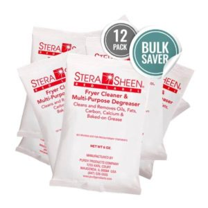 Bulk Stera-Sheen Red Label Fryer Filter Cleaner