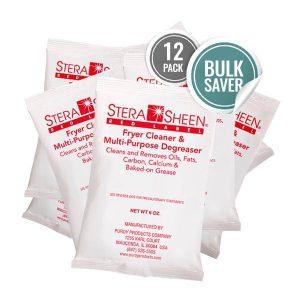 Bulk Stera-Sheen Red Label Fryer Filter Cleaner
