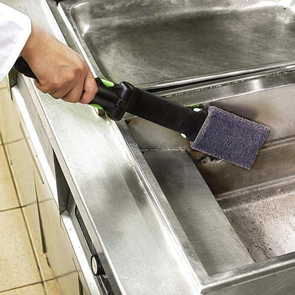 Deep fryer boil out cleaner