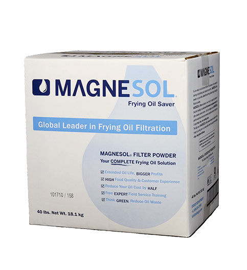 Magnesol Fry Oil Filter Powder 40lb Box