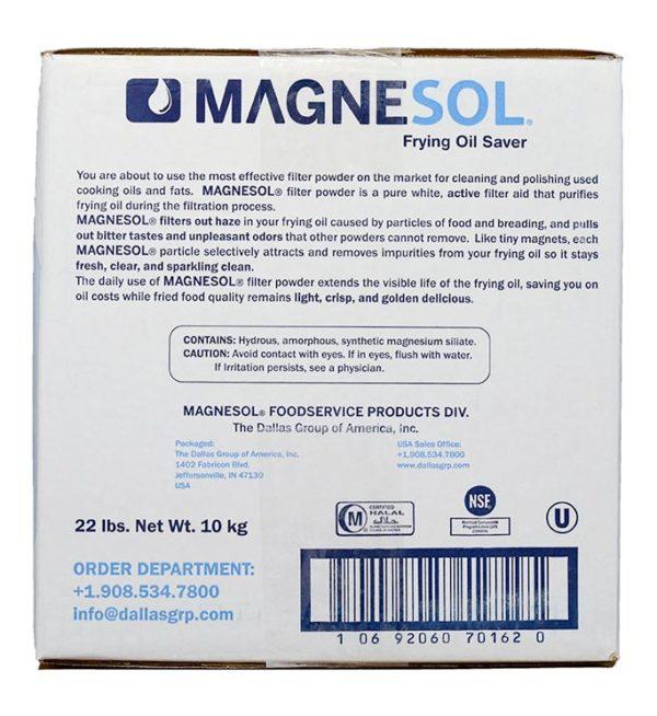 Magnesol Fry Powder Box