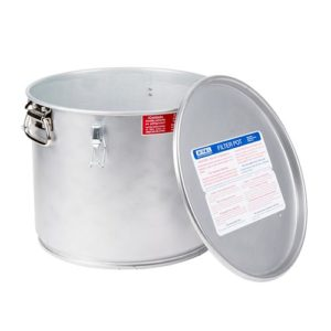 Miroil Filter Pot With Lid 60l