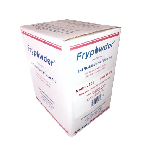 Miroil Frypowder Oil Stabilizer 3 Gallons