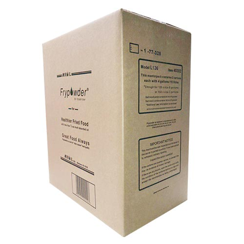 Miroil Frypowder Oil Stabilizer 8 Gallon Box