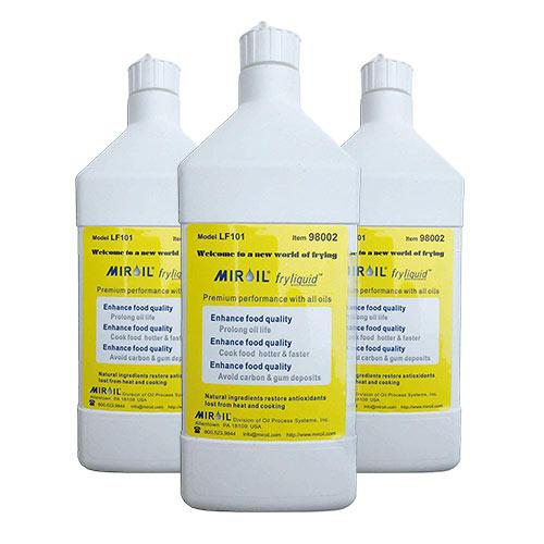 Miroil LF101 Antioxidant Fry Liquid 3x1 Liter
