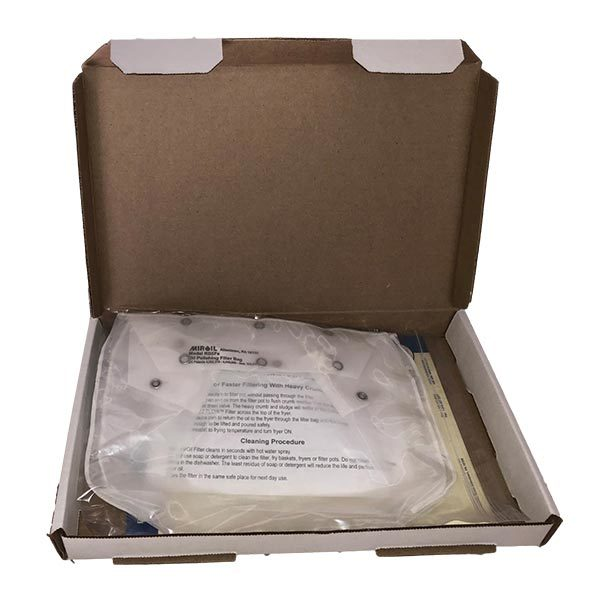 Miroil RB5FS EZ Flow Frying Oil Filter Bag