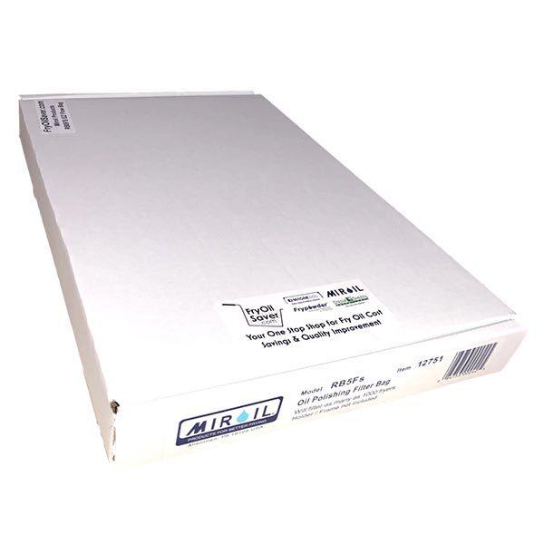 Miroil RB5FS EZ Flow Oil Filter Bag in Box