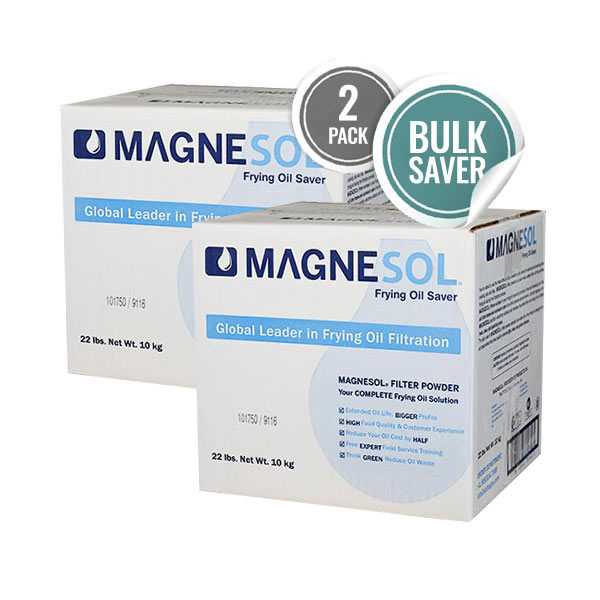 Magnesol Fry Oil Filter Powder 2x22lb Box