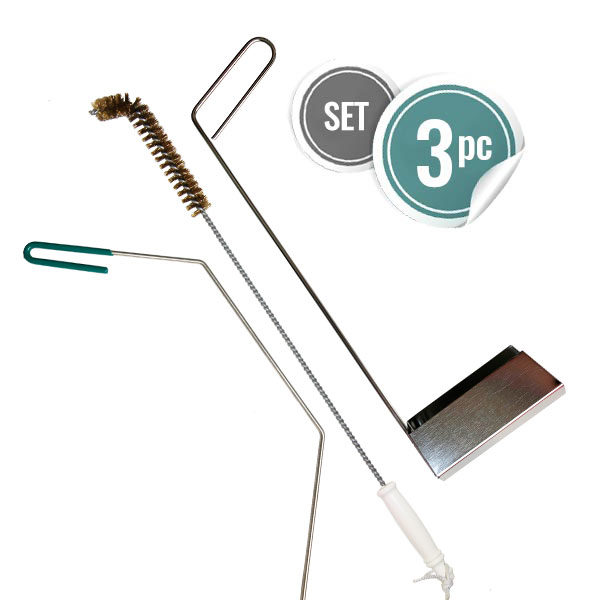 Set of Deep Fryer Cleaning Tools